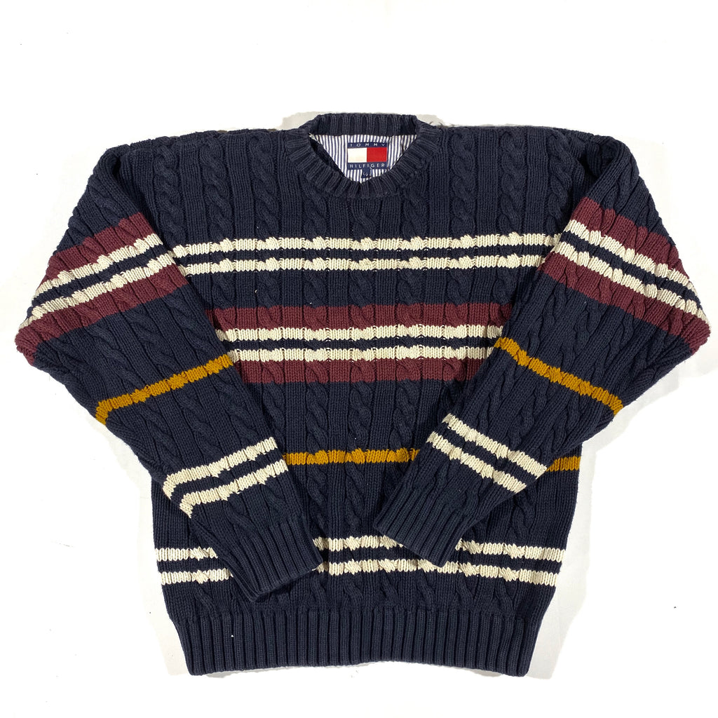 Tommy hilfiger thick cotton sweater large