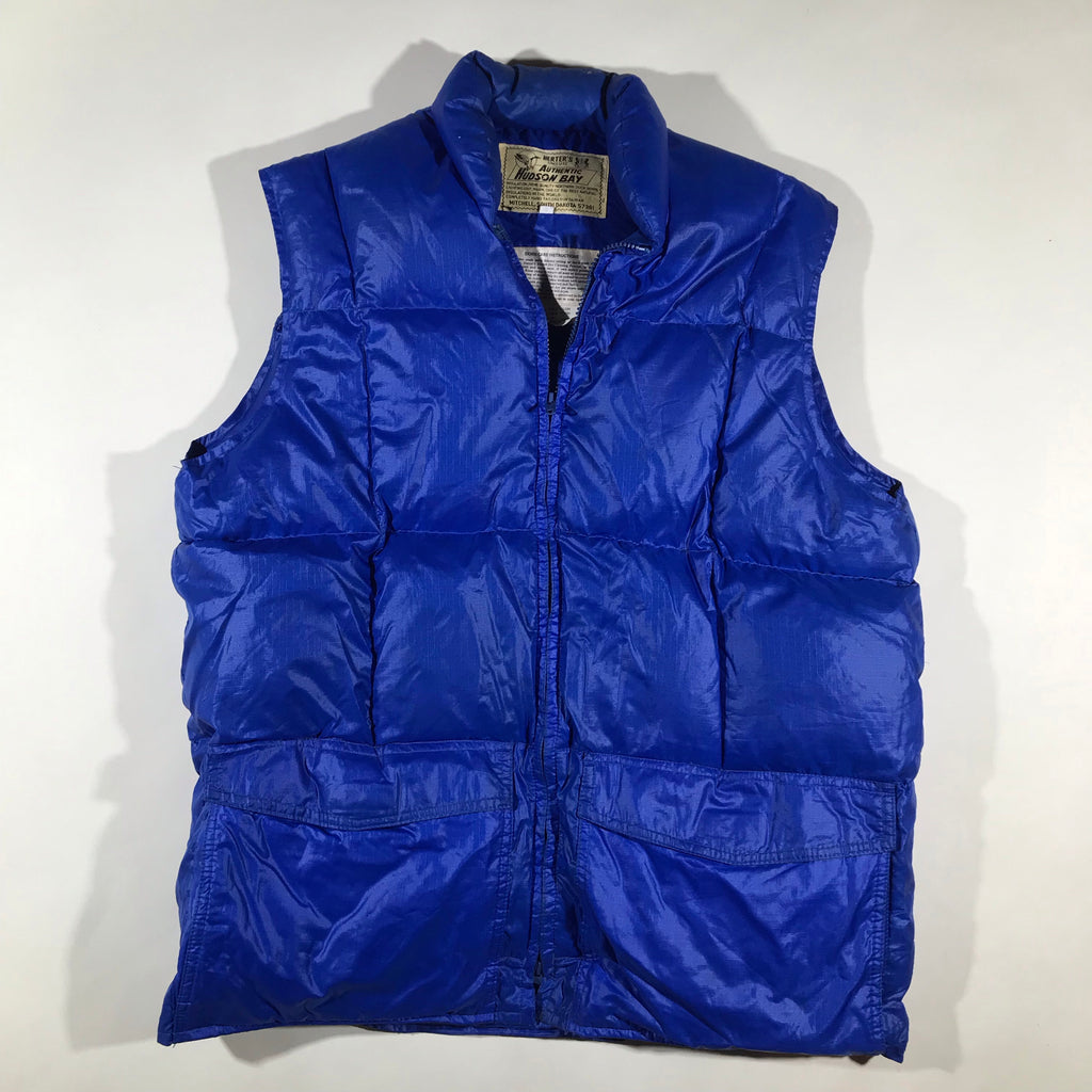 Hudson Bay down vest. large fit.
