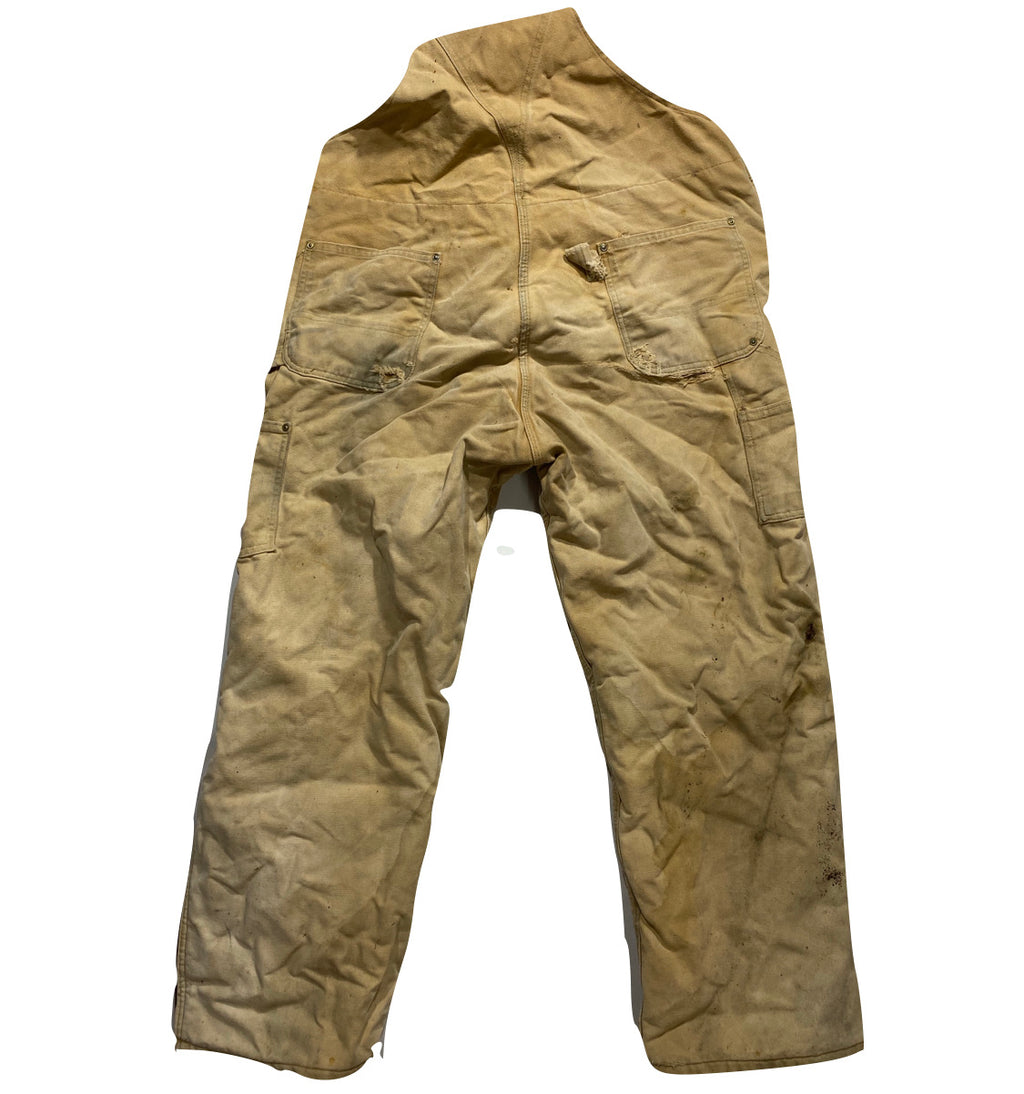 Carhartt lined overalls. Made in usa🇺🇸 42/30
