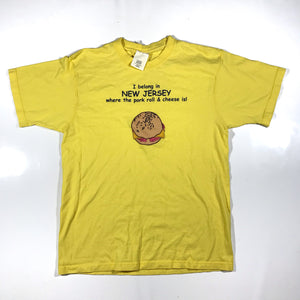 PORKROLL AND CHEESE TEE. large