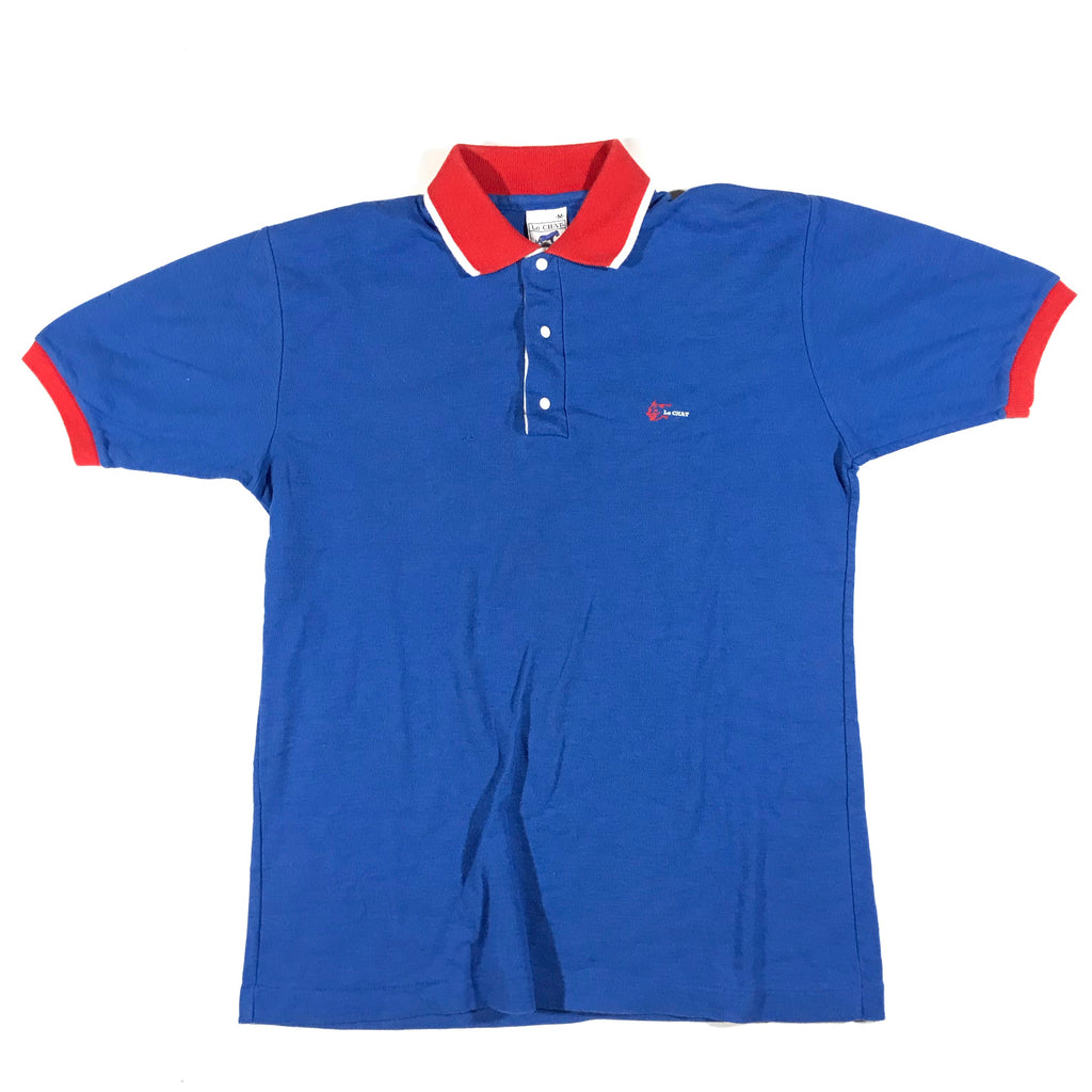 80s Le chat polo. Small