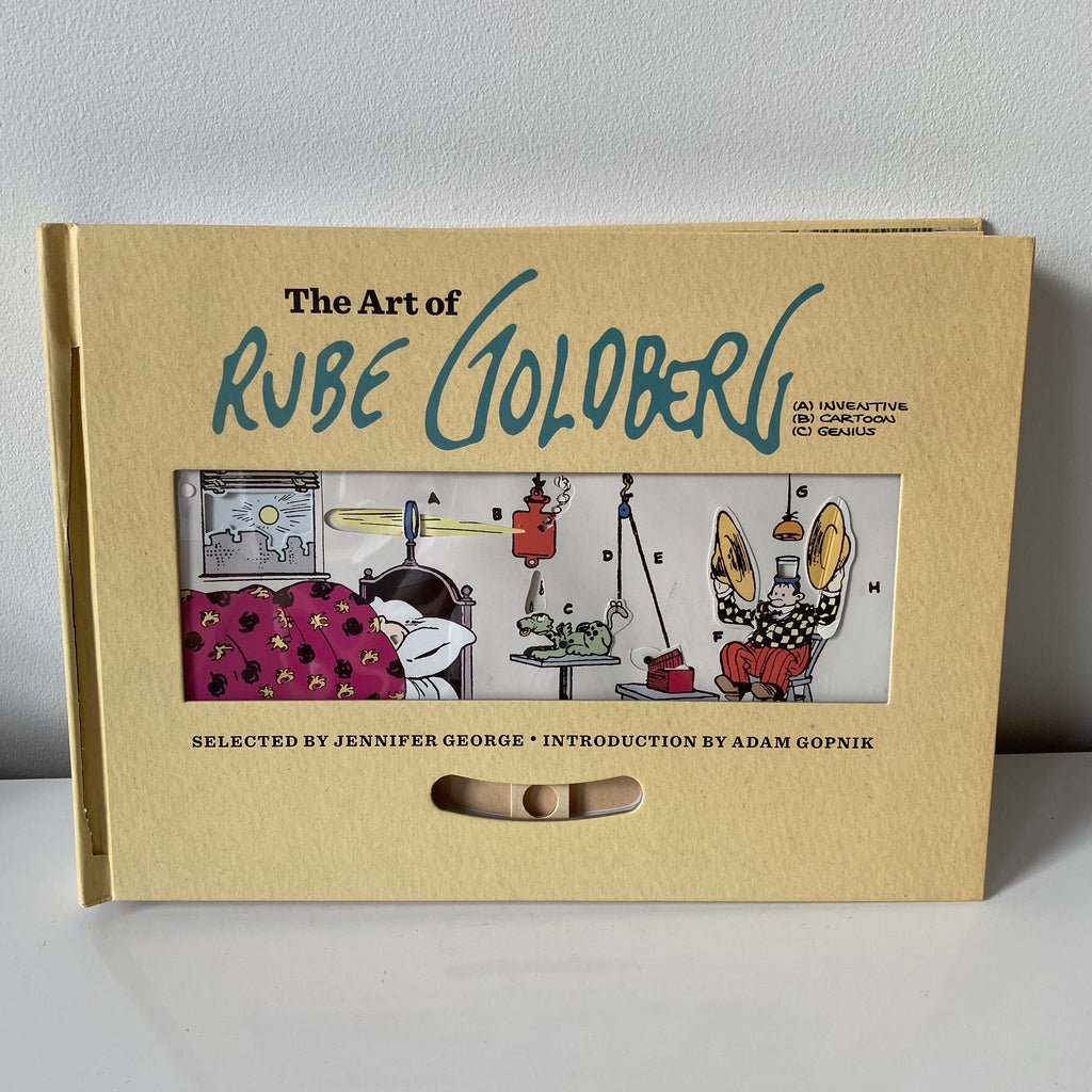 The art of Rube goldberg book