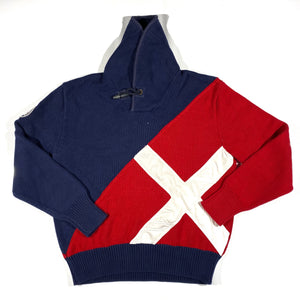 Polo ralph lauren yachting shawneck sweater. XL