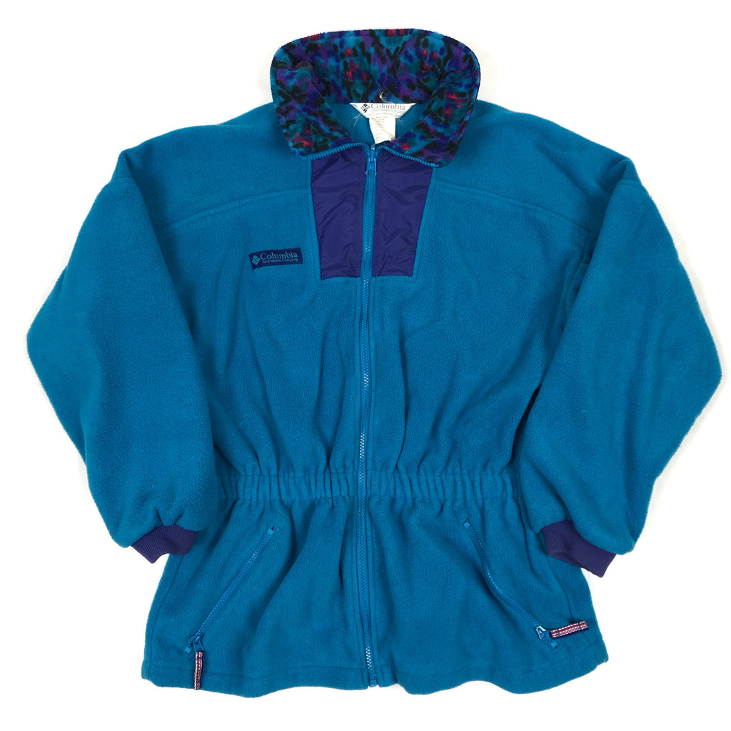 Retro Columbia Pullover Fleece