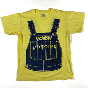 70s HOWDY PO FOLKS HOMESTYLE COOKING S/M