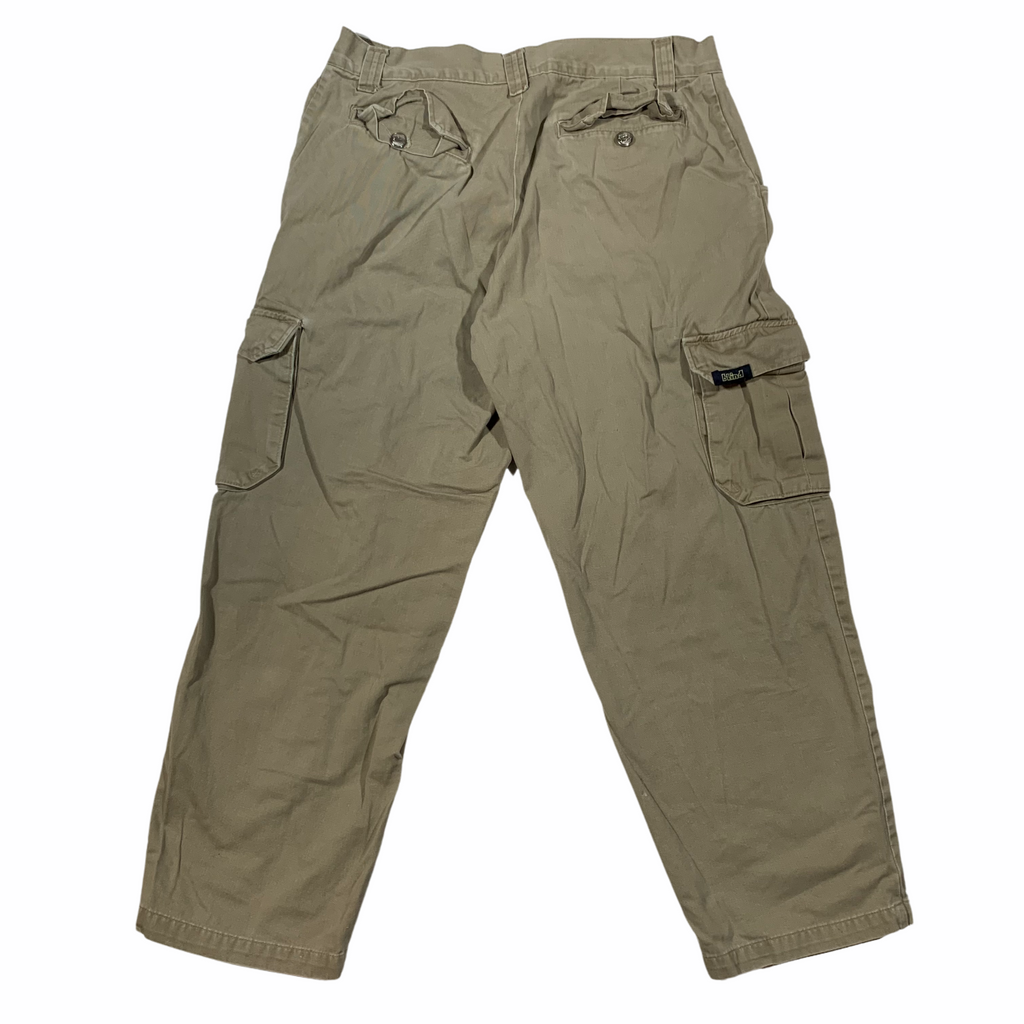 1990's Blind baggy cargos. Made in USA. 34x28.