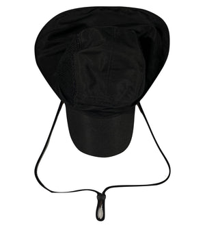 Sun hat with the flap on the back. L/XL