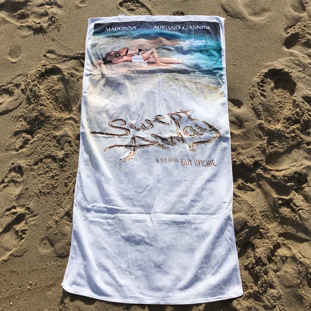 Swept away movie towel