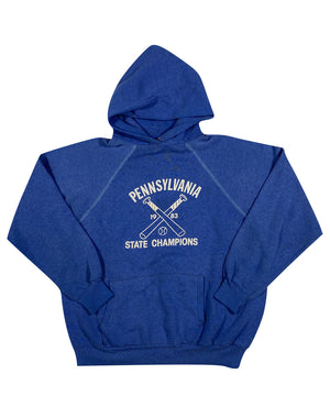 1983 pennsylvania state champs hoodie. medium