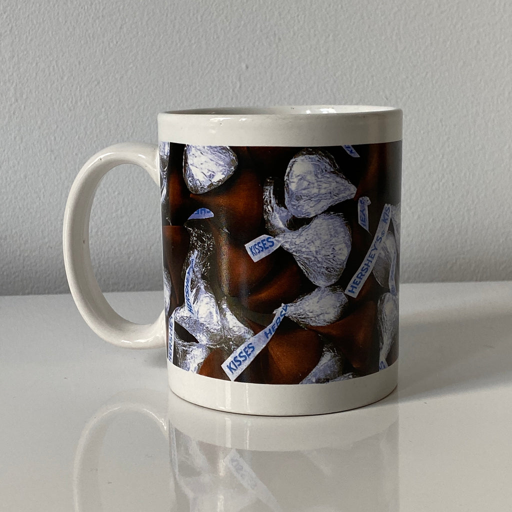 Hershey kisses mug.