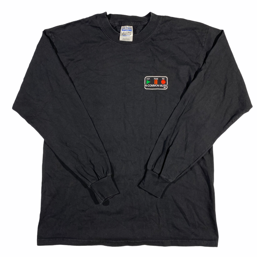 Y2k In-common music store long sleeve. large