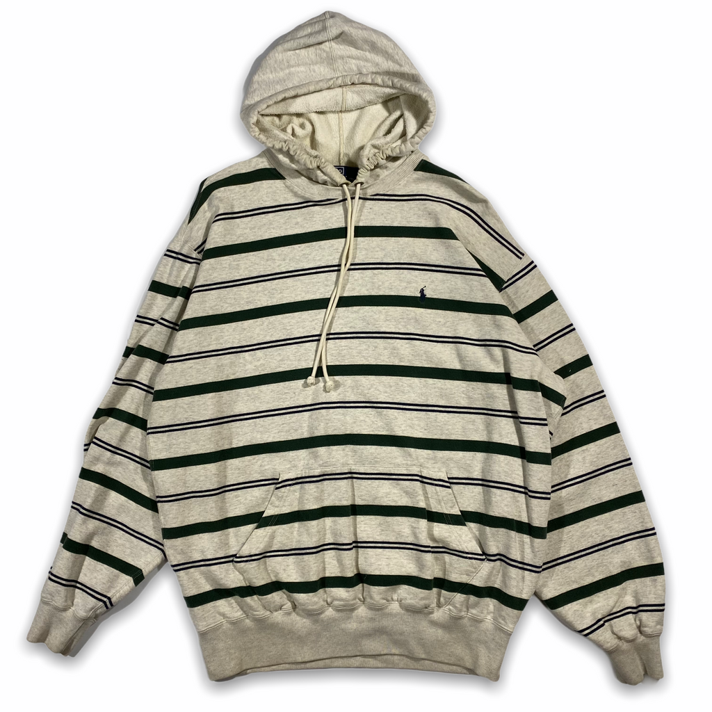Polo ralph lauren striped hood. L/XL