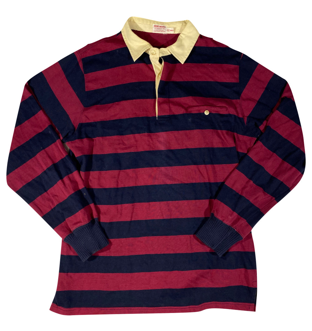 80s Brooks brothers rugby. XL