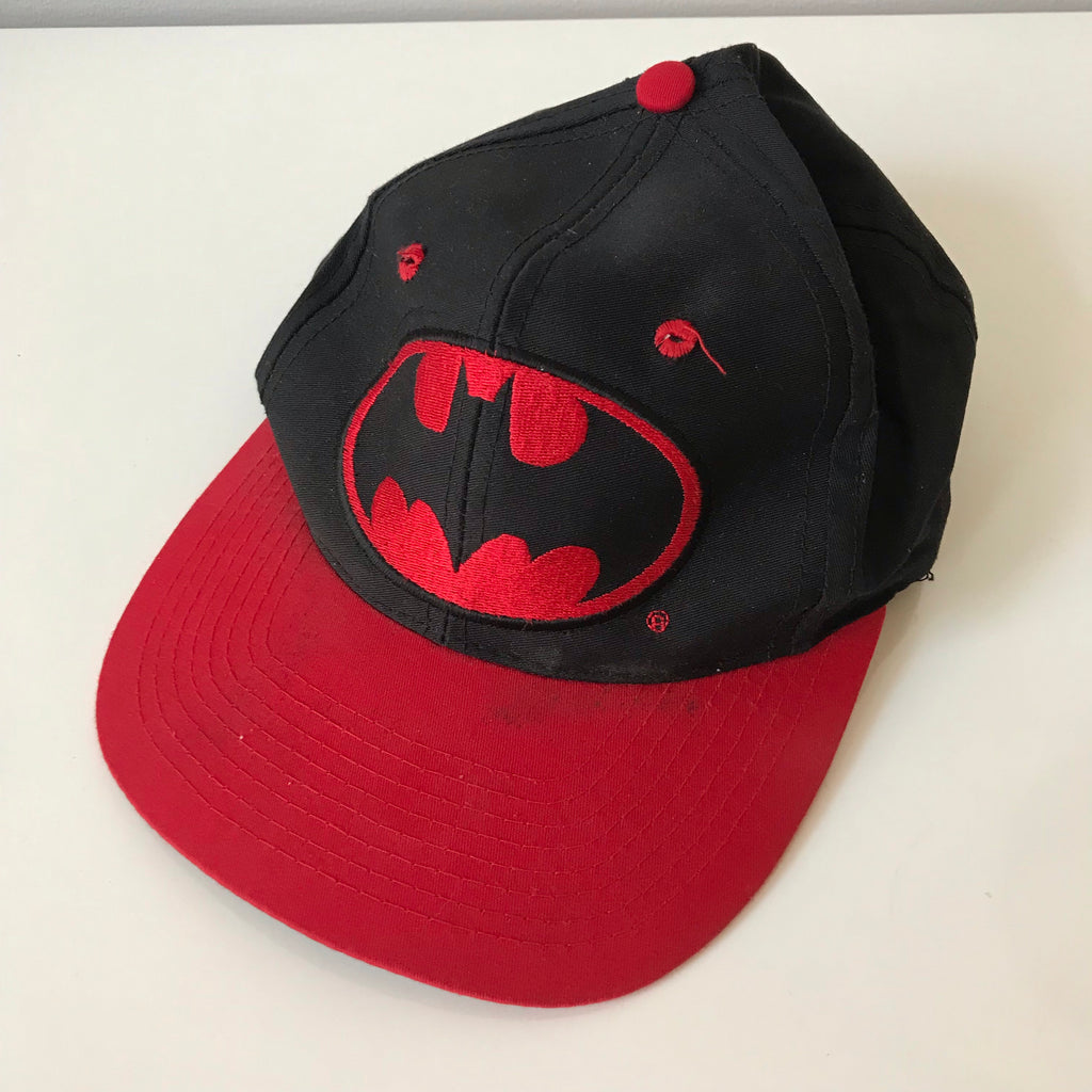 Batman hat.