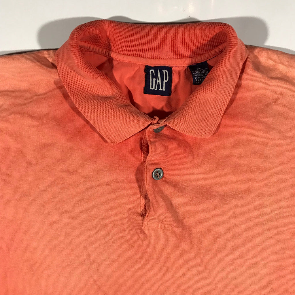 90s Gap polo. faded nicely. XL