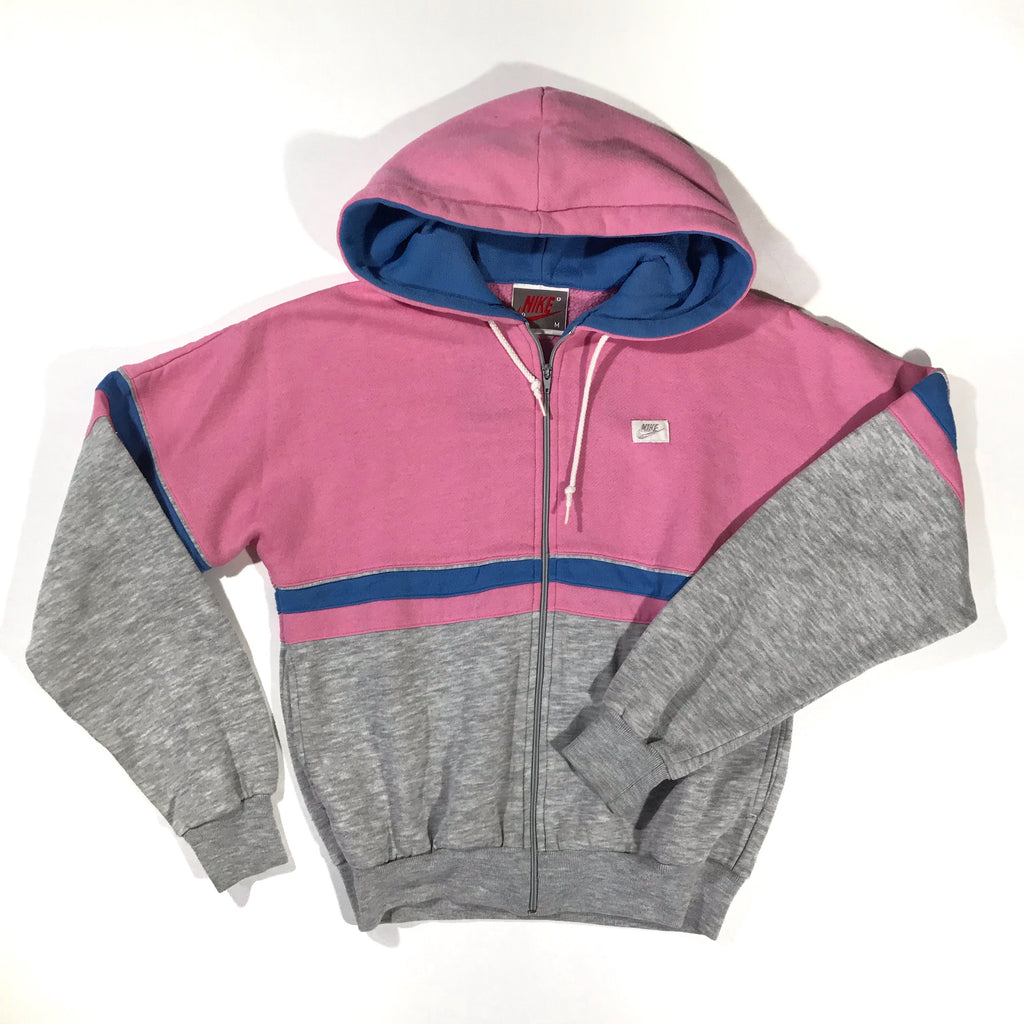 Nike zip up sweatshirt. ladies medium.