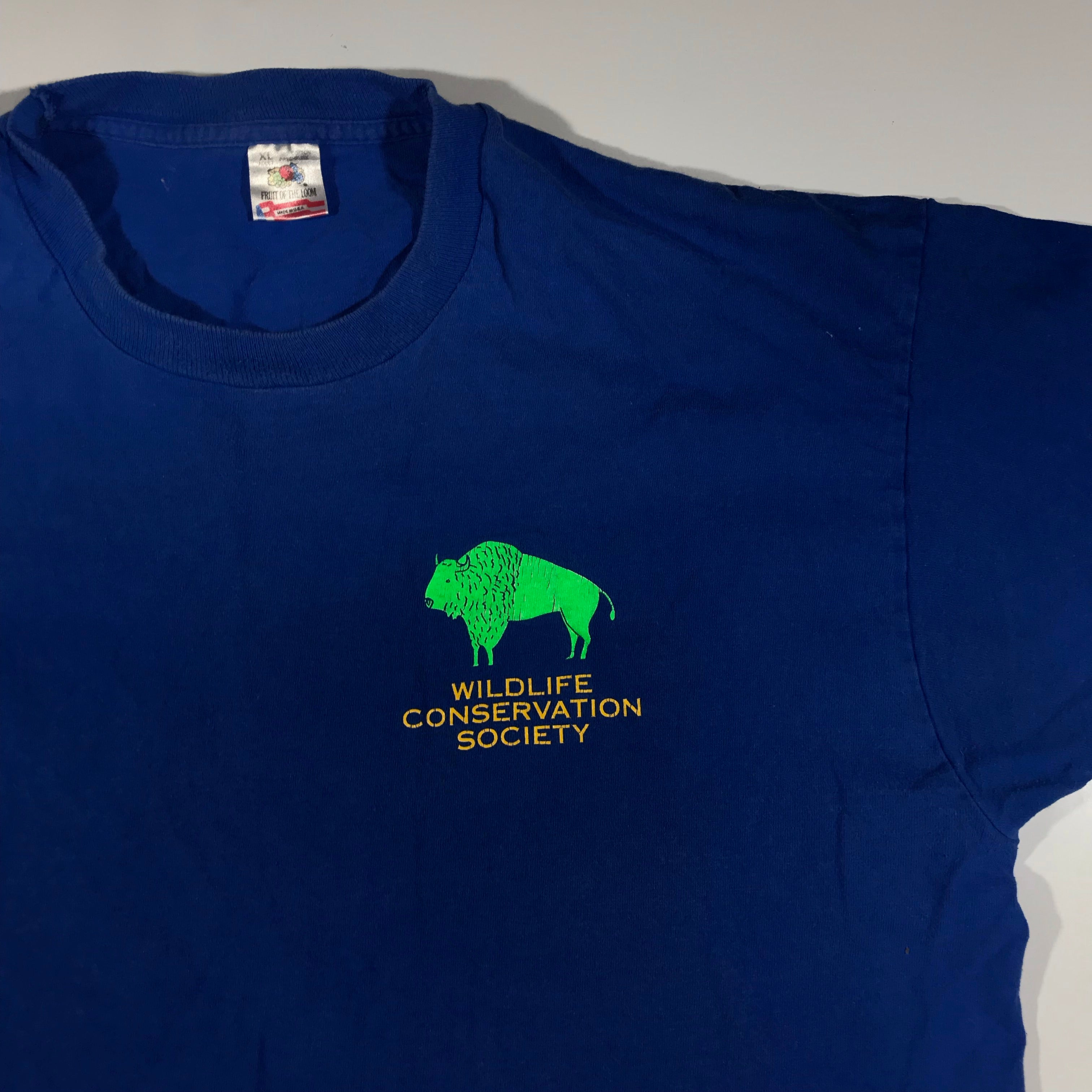90s Wildlife conservation society tee. XL