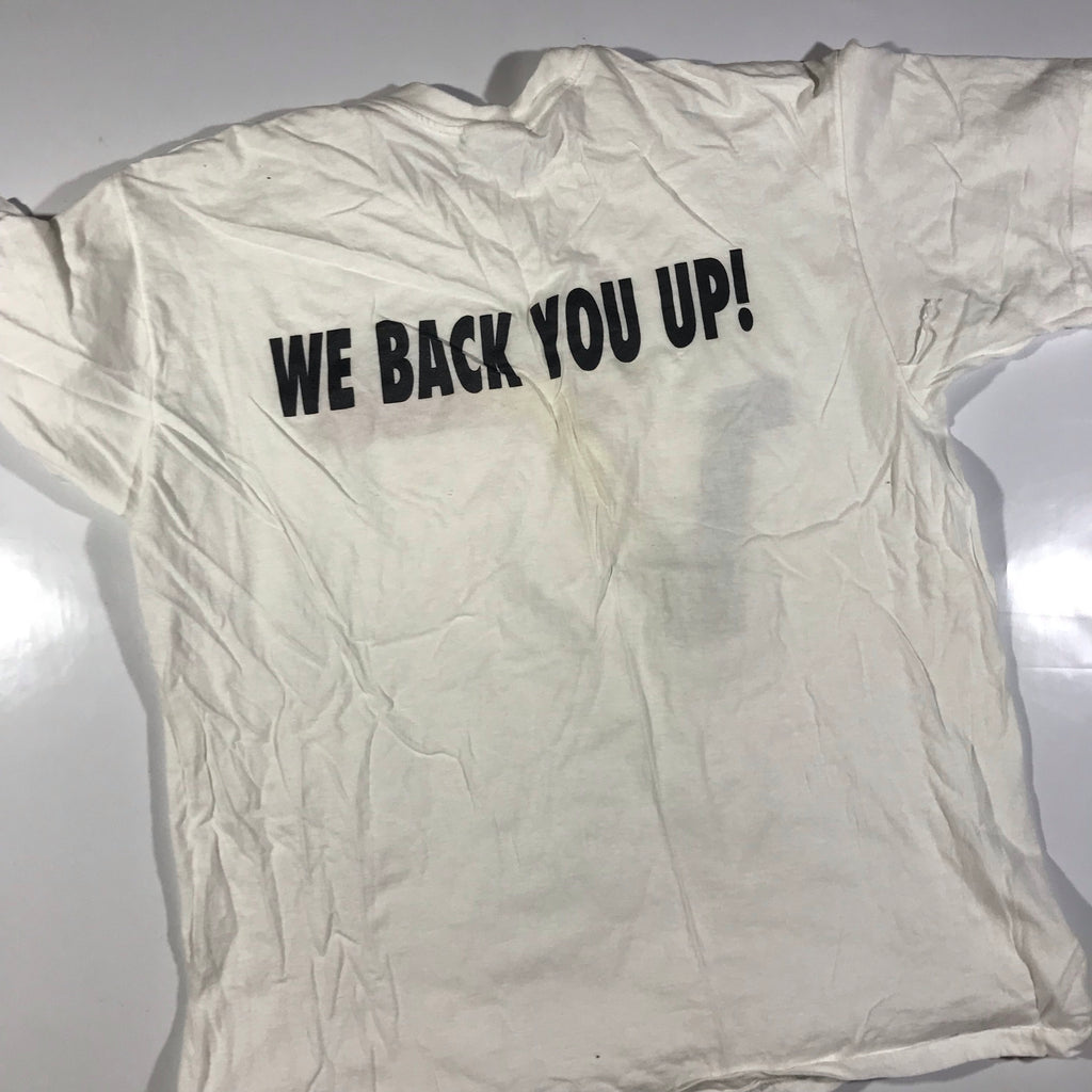 90s We back you up valitek early tech company tee. XL