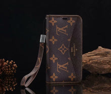 Louis Vuitton Leather Wallet Phone Case For iPhone 11 Pro Max