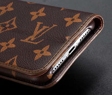 Louis Vuitton Leather Wallet Phone Case For iPhone 6/6s