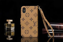Louis Vuitton Leather Wallet Phone Case For iPhone 11