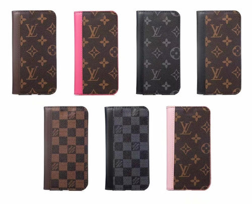Louis Vuitton Leder Brieftasche Handyhülle für iPhone 11 Pro