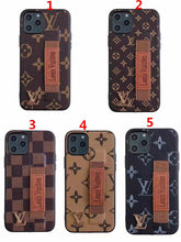 Louis Vuitton Leather Phone Case For iPhone XS Max