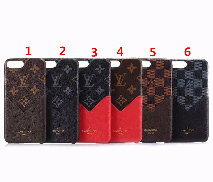 Louis Vuitton Leather Phone Case For iPhone 6/6s