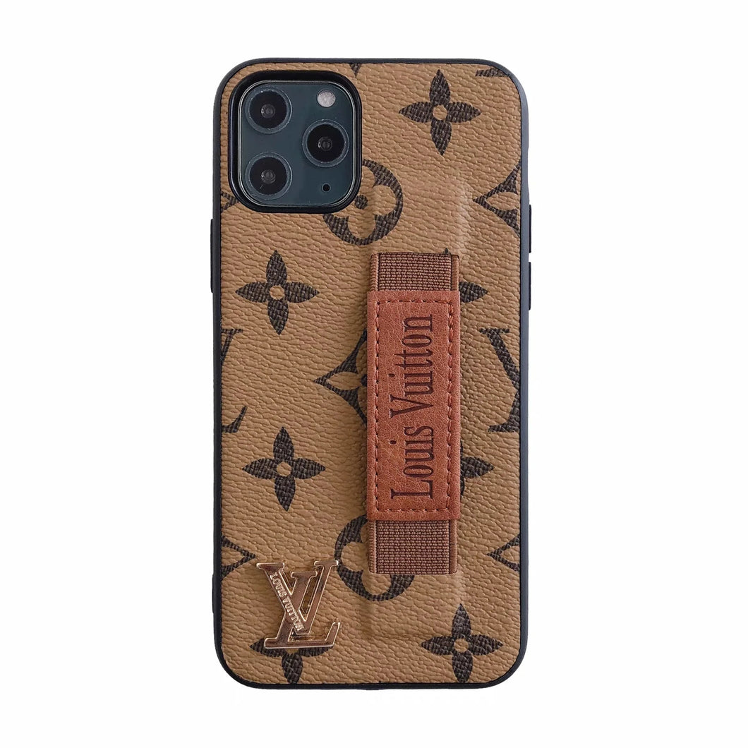 Louis Vuitton Leather Phone Case For iPhone 7\/8 – Phone Swag