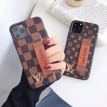 Louis Vuitton Leather Phone Case For iPhone 11 Pro Max