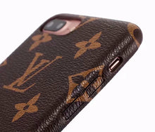 Louis Vuitton Leather Phone Case For iPhone 7/8 Plus