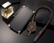 Louis Vuitton Leather Trunk Phone Case For iPhone XR