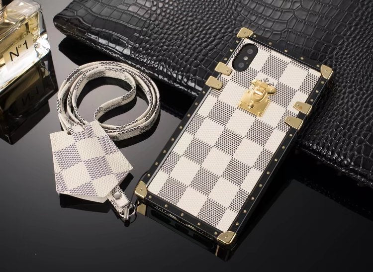 Louis Vuitton Eye Trunk Phone Case For iPhone 6\/6s Plus 50% off Retail – Phone Swag