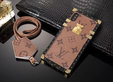 Louis Vuitton Leather Eye Trunk Phone Case For iPhone 6/6s