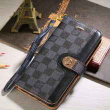 Louis Vuitton Leather Wallet Phone Case For Galaxy S8 Plus