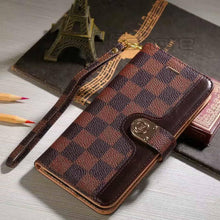 Louis Vuitton Leather Wallet Phone Case For Galaxy Note 10