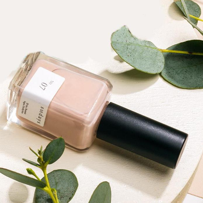 Elate Ethical Marketplace vegan, toxin free and cruelty free Sundays Nail Polish - holiday christmas gift giving as a stocking stuffer