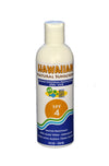 Hawaiian Natural Sunscreen - SPF 4 8oz.