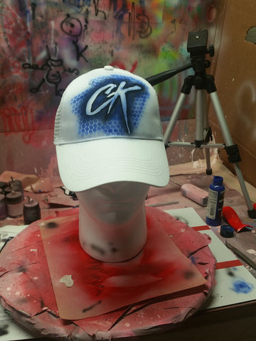 CustomK New Design Hat Air Brushed