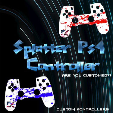 Ps4 Splatter Controller