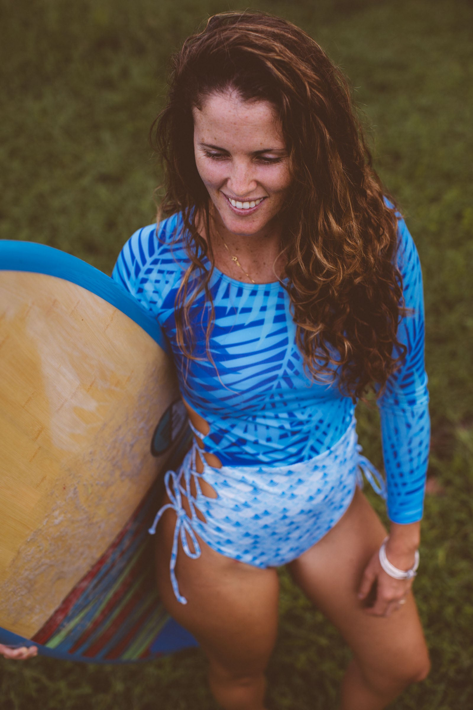 THE TROPICAL MERMAID OVER-UNDER LONG-SLEEVE SUIT