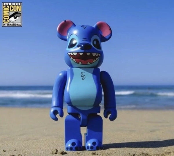 SDCC 2018 Bait Exclusive Disney Stitch Bearbrick 400% Medicom Figure