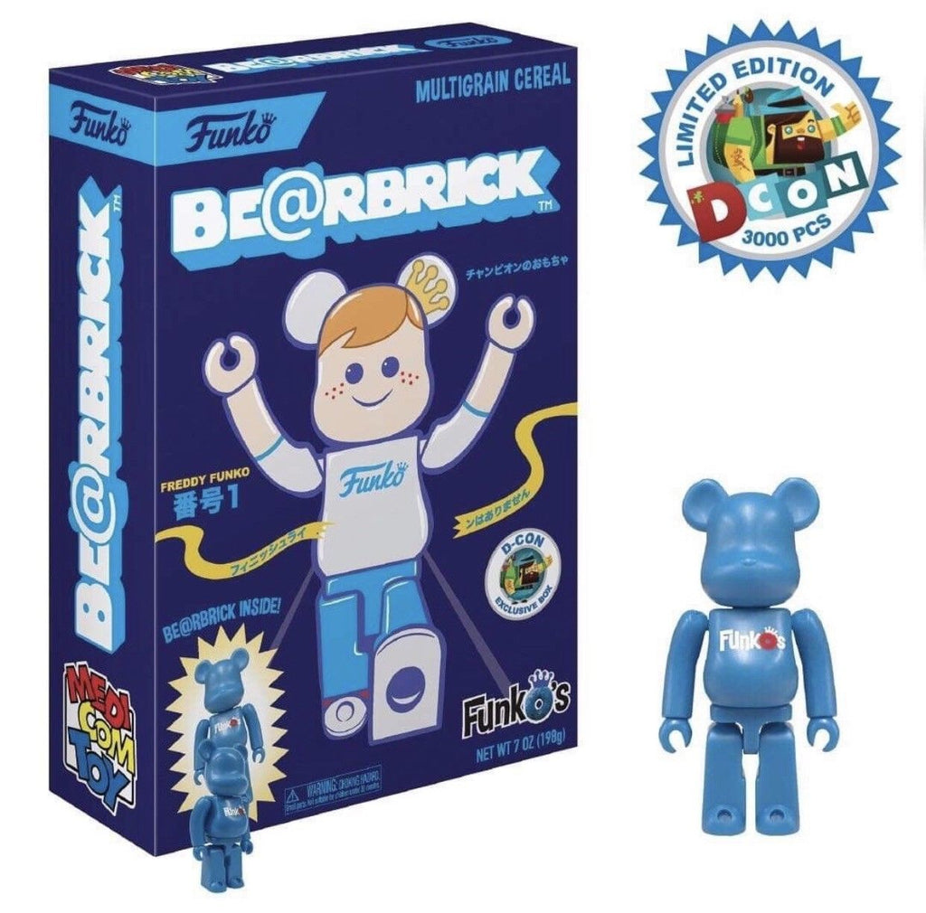FunkO's Cereal Exclusive - Be@rbrick Bearbrick x Funko - Designer Con Limited Edition 3000pcs