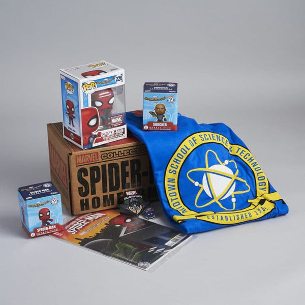 Funko Marvel Collector Corps Subscription Box - Spider-Man Homecoming