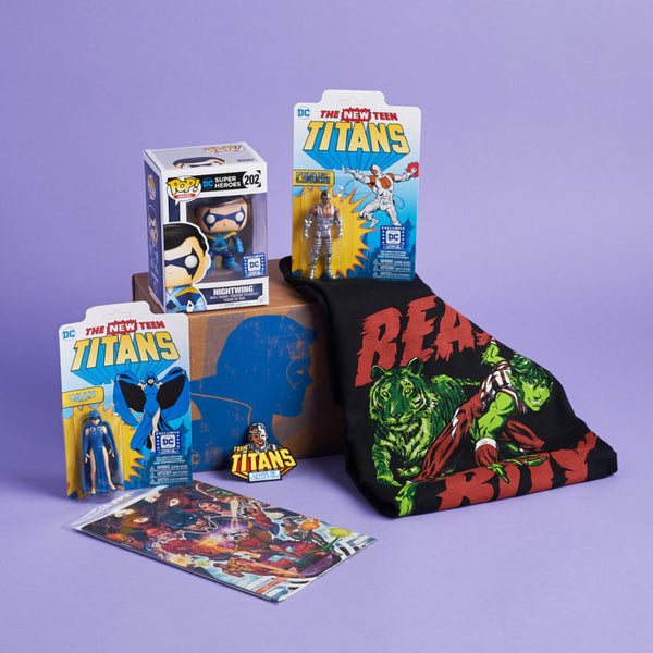 Funko Legion of Collectors Subscription Box - Teen Titans