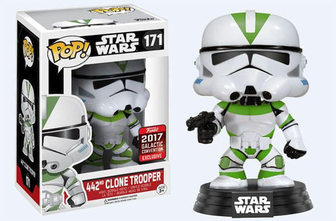 POP! Star Wars - 442nd Clone Trooper - 2017 Galactic Convention Exclusive