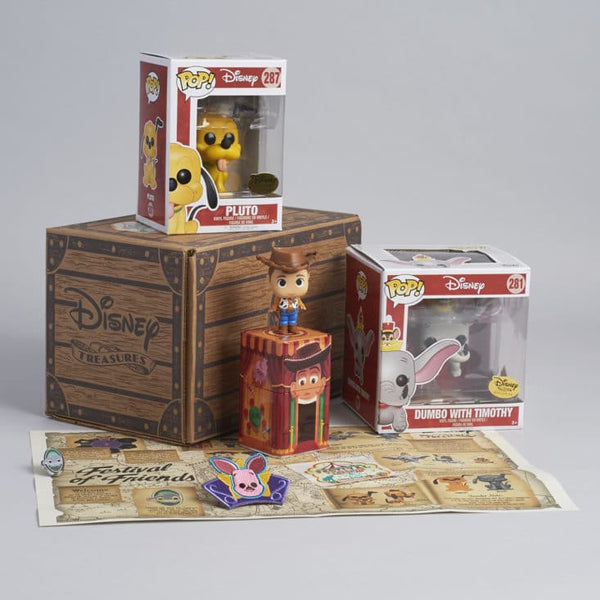 Funko Disney Treasures Subscription Box - Festival Of Friends