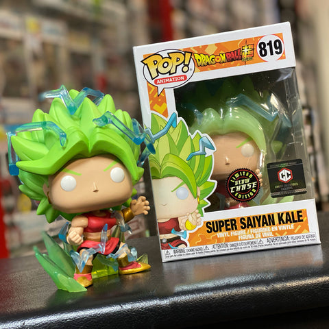 Dragon Ball Super - Set of Super Saiyan Kale + Glow Chase Bundle