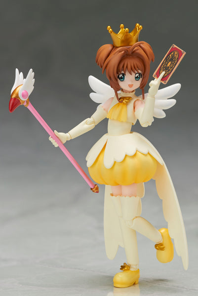 Set of 2 Bandai Tamashii Nations S.H.Figuarts Sakura Kinomoto Cardcaptor Sakura Action Figure Bundle