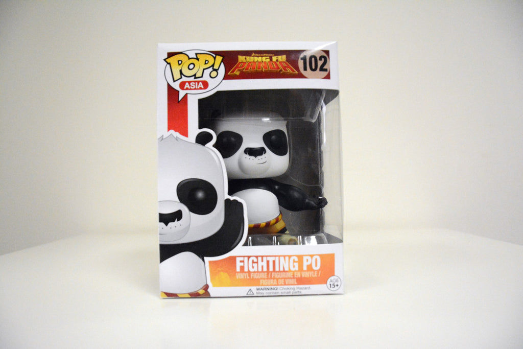 Pop Asia Only Exclusive Kung Fu Panda Fighting Po